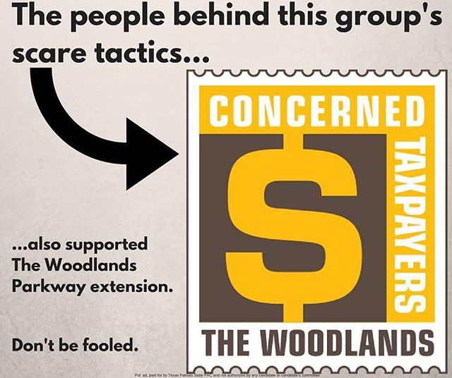 The political elites and developers created this group to attack Gordy Bunch, Brian Boniface, John Anthony Brown, and Bruce Rieser for standing up for our residents. Don't be fooled! #thewoodlands