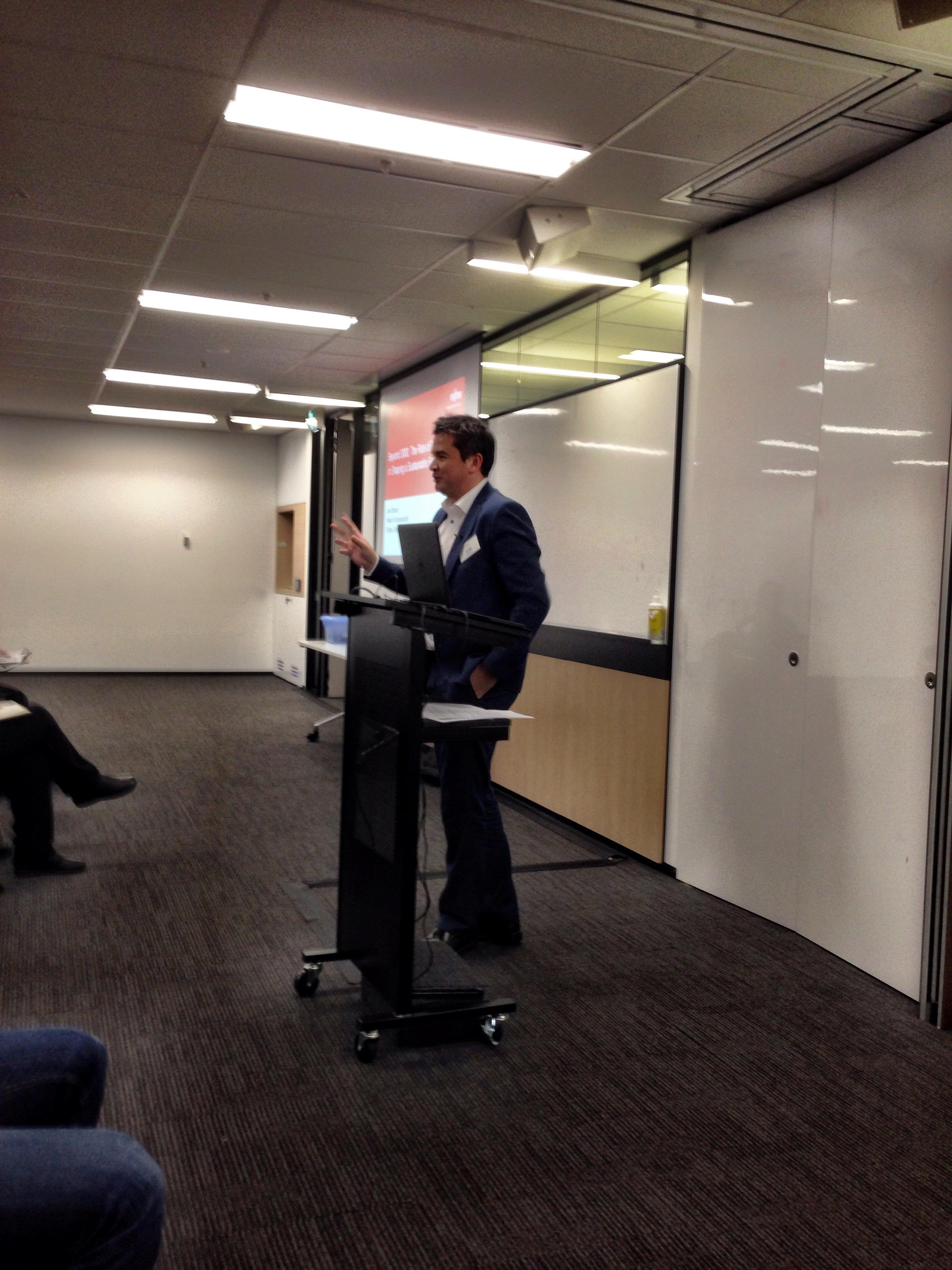 Lee Stewart, Head of Sustainability ANZ Fujitsu Australia Limited