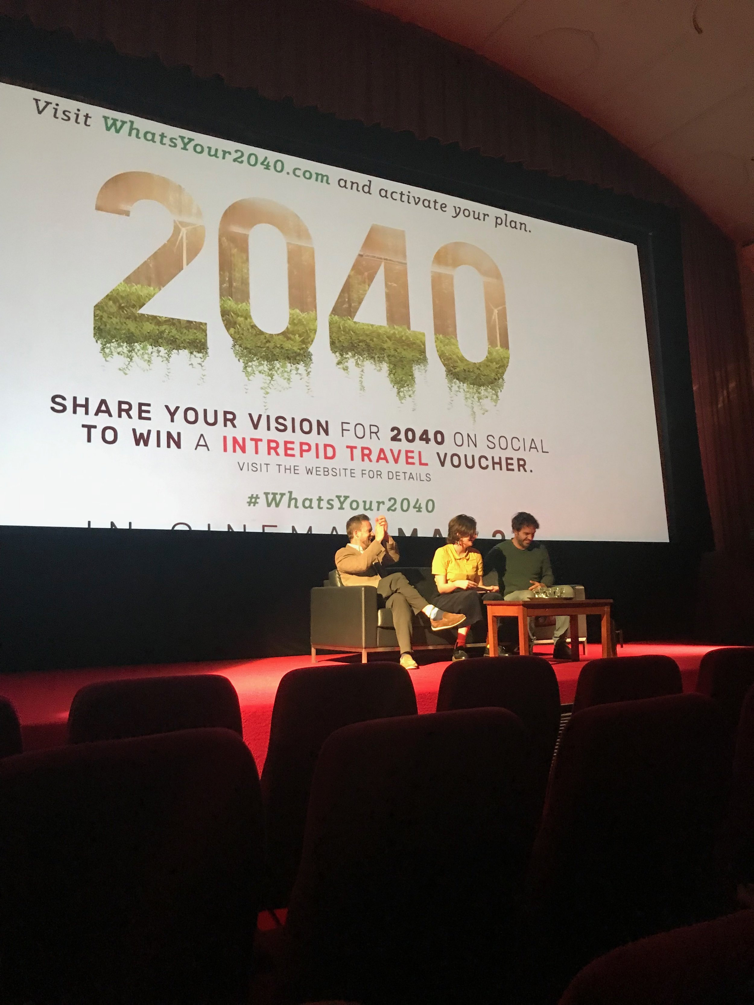 We encourage you all to go see the 2040 movie by Damon Gameau. Spread the word and activate your plan to bring to life YOUR 2040 at  WHATSYOUR2040