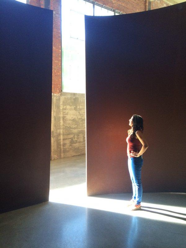 Richard Serra's Torqued Elipses
