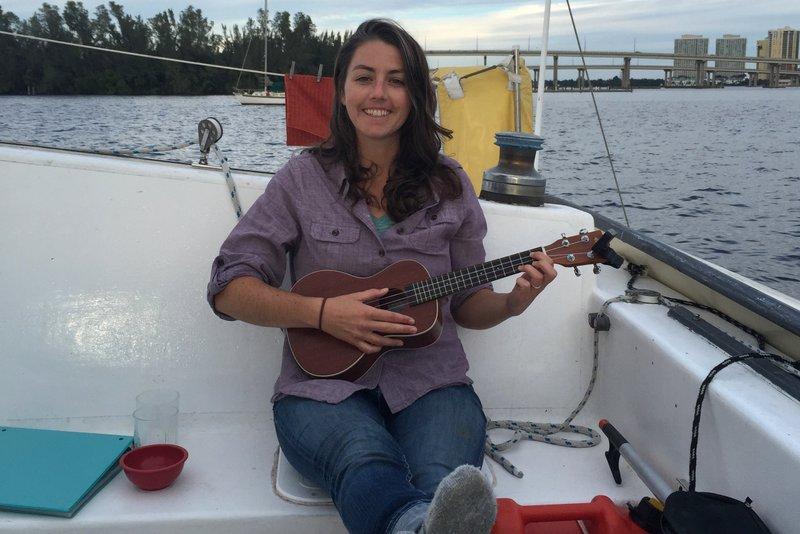 I finally dug my ukulele back out after a busy fall.