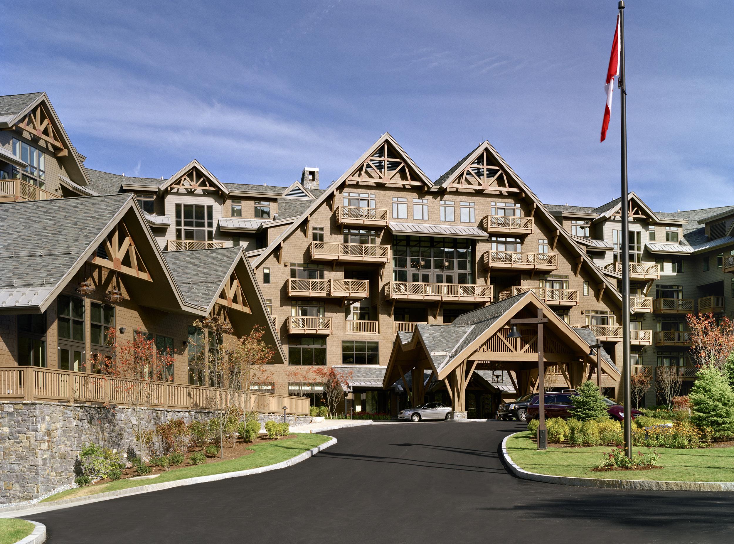 Stowe Mountain Lodge >> Stowe Mountain Lodge 4240 Architecture