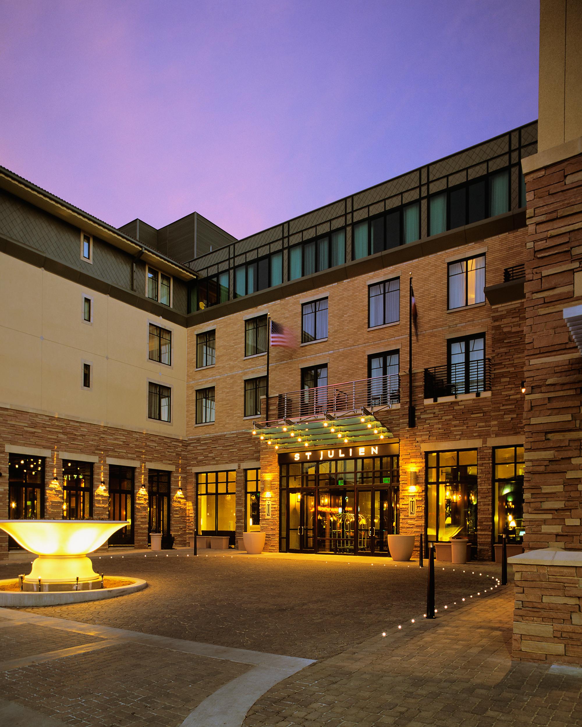 st_julien_hotel_boulder_colorado_sunset_entry.jpg