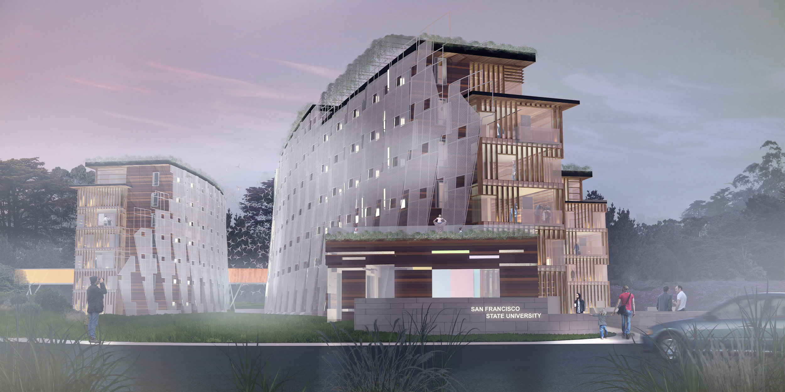 confluence student housing competition