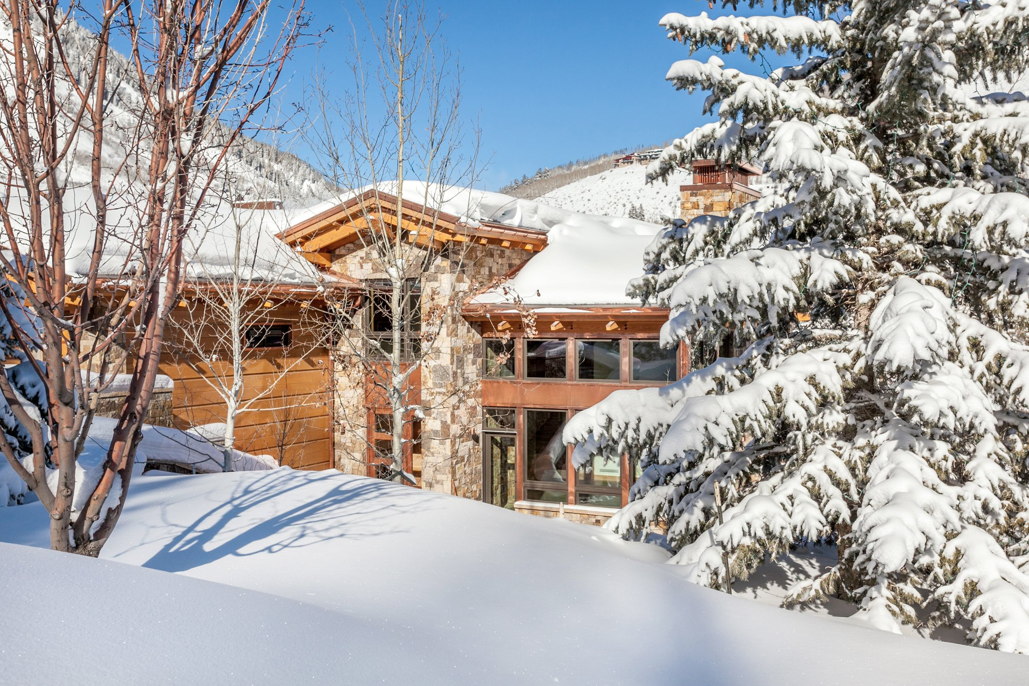 vail mountain home