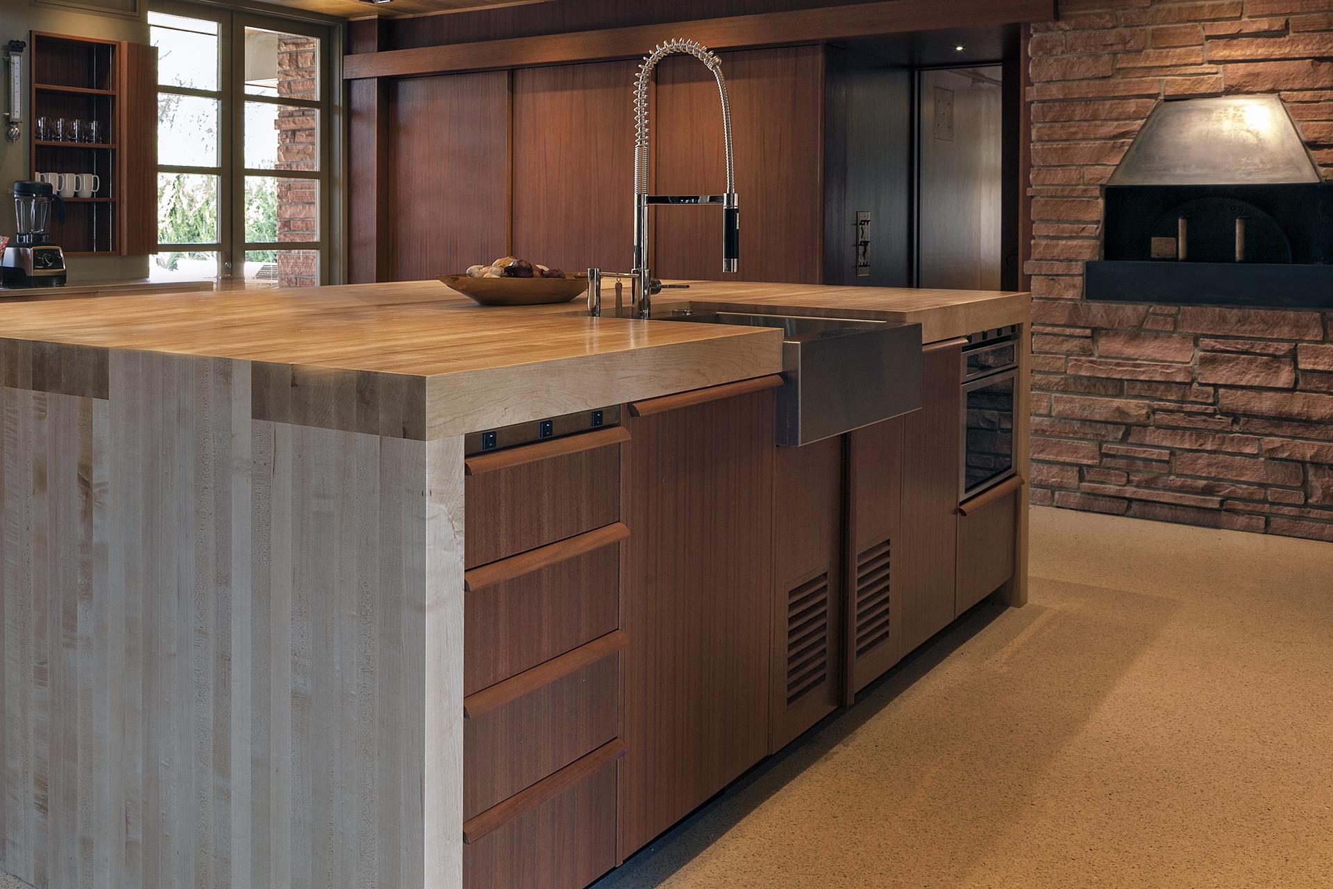 hornbein kitchen island