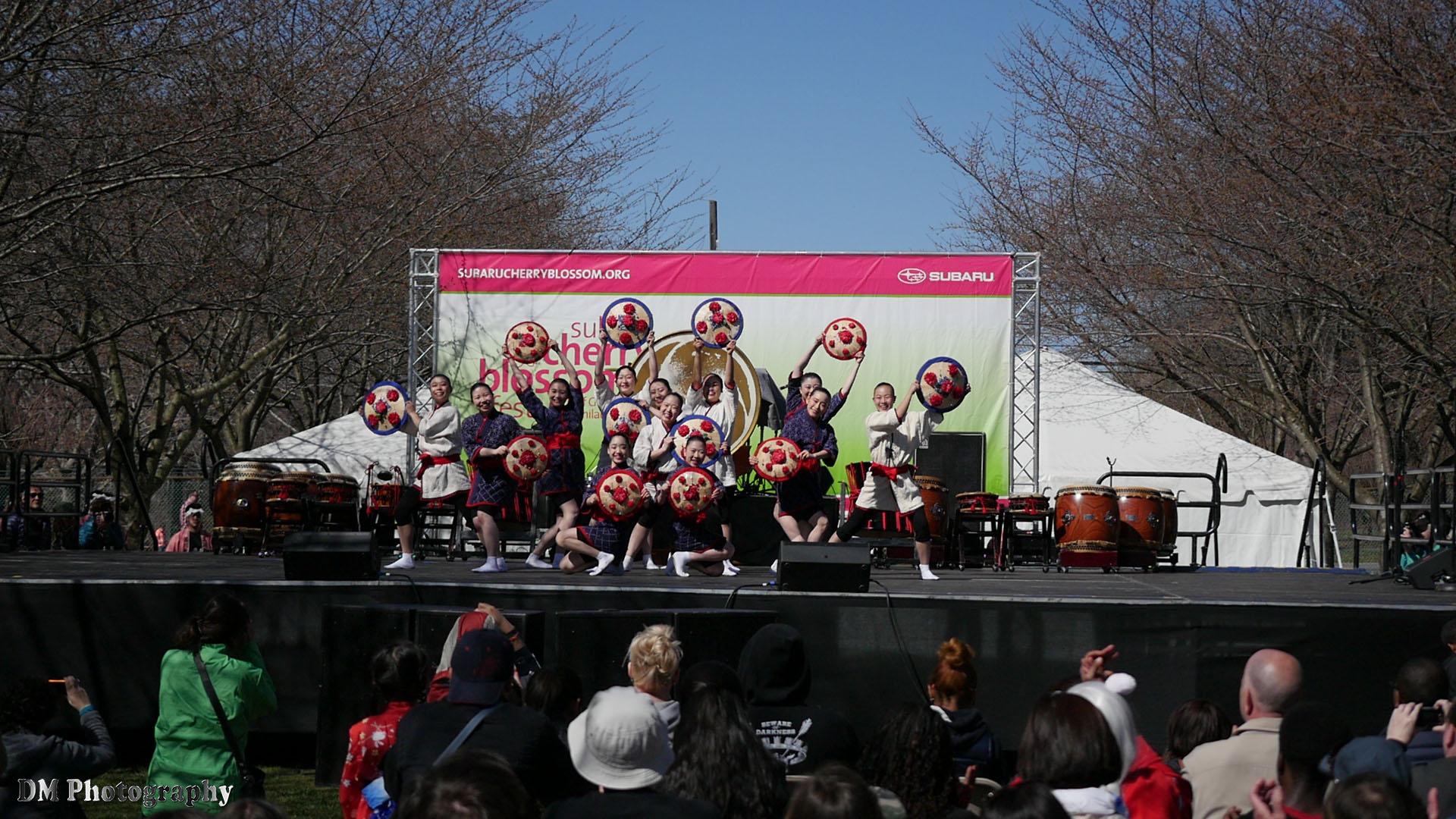 Tamagawa University Taiko Drum and Dance