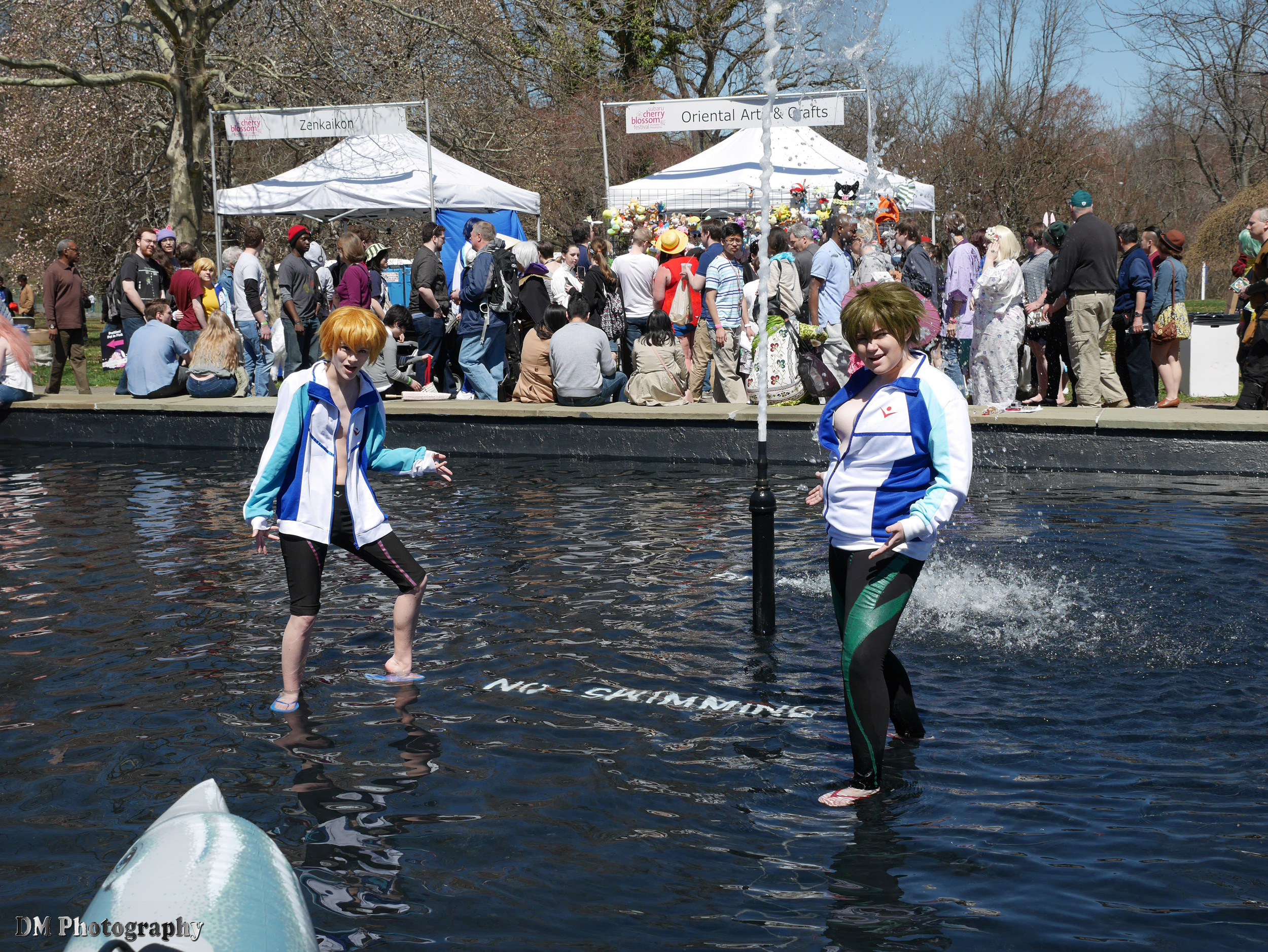 Free! cosplayers