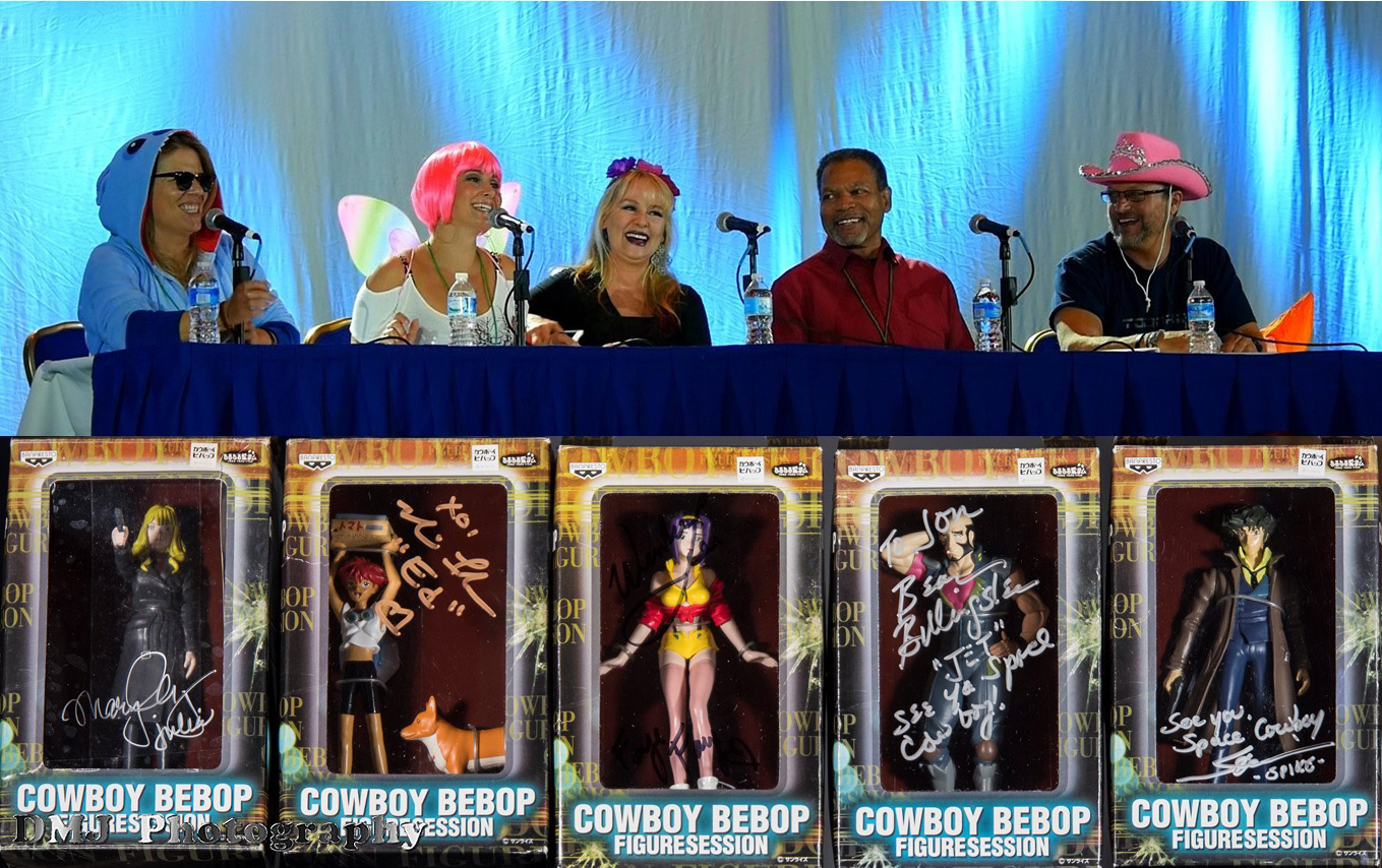Cowboy Bebop Autographs