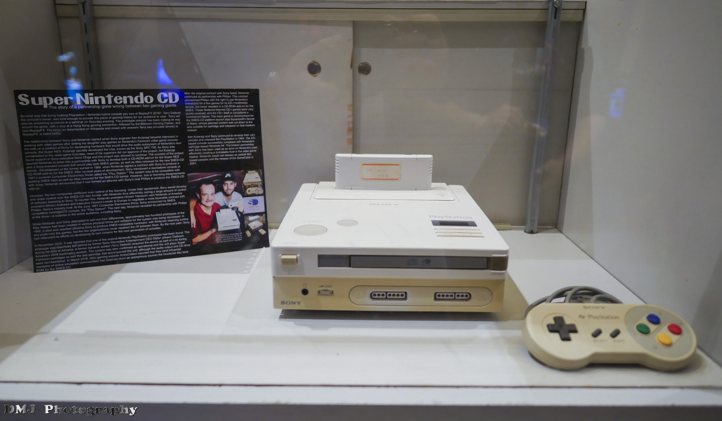 The fabled Super Nintendo CD prototype