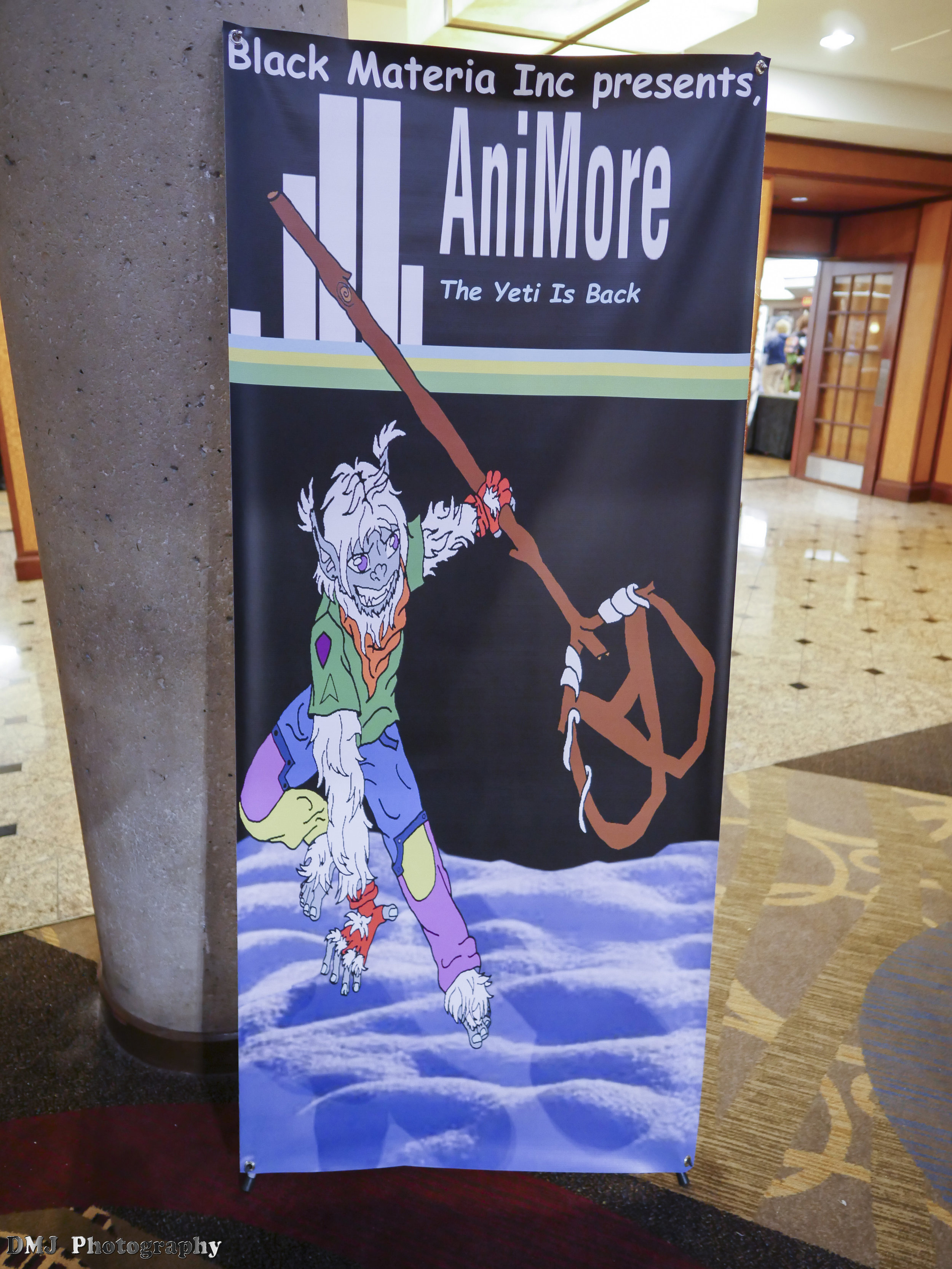 The AniMore 2017 banner