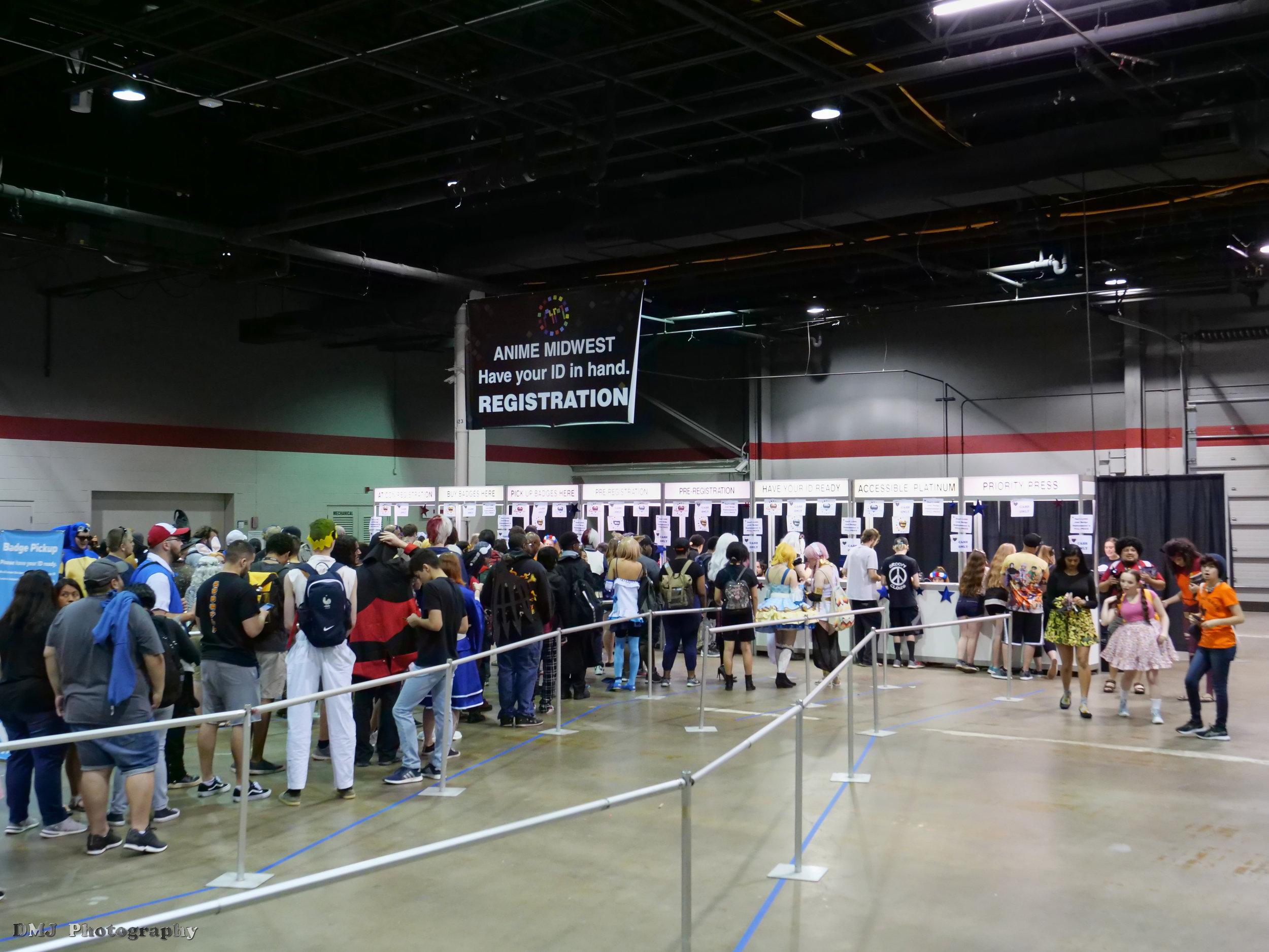 Registration Booths