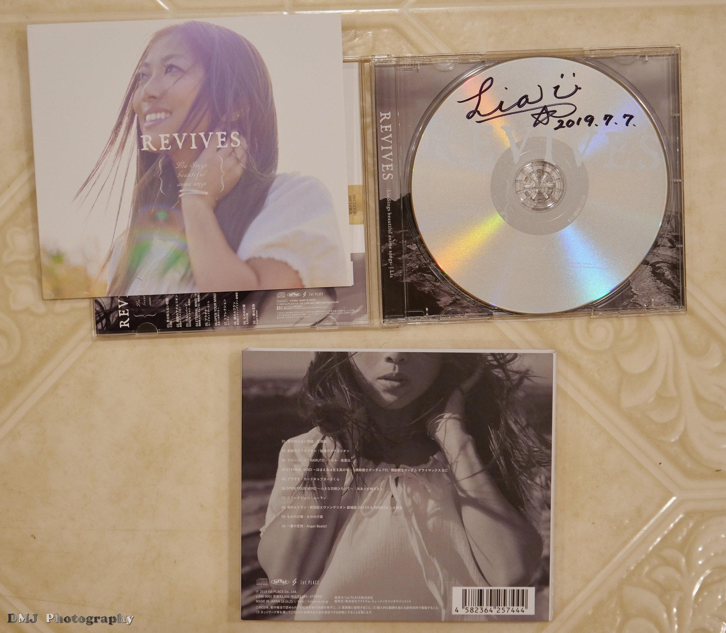 Autographed CD