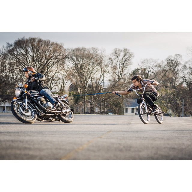 Happy Wednesday! Sometimes you need a little more perpetual motion @3rdpiston on the throttle to slingshot @filthyrum615 to the moon! | photo by: @andrewgwhite  (at The City of Nashville)