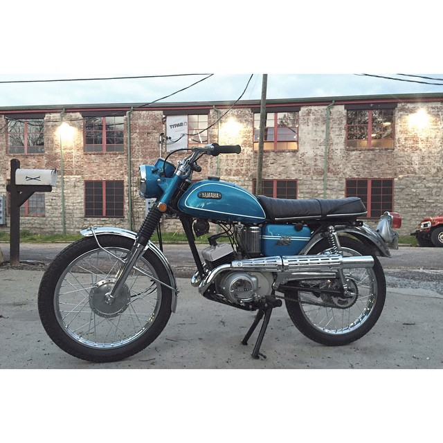 For the Purist | 1969 Yamaha AS2 | VJMC (at Fort Houston)