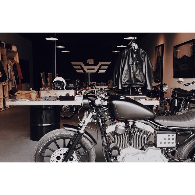 Went by on this raining day in #Nashville to visit @motomodashop to see what's new for riding gear in 2015! They have some awesome stuff on the shelves! photo by: @chrisdanielsphoto
