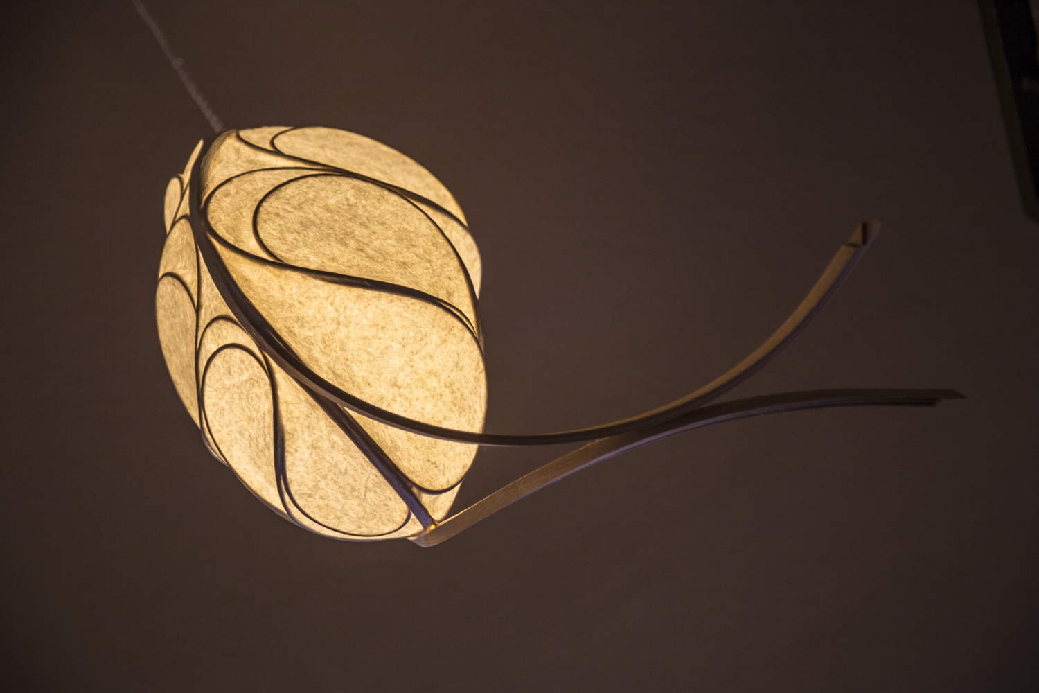 Stephen White's light sculpture... one of many masterpieces!