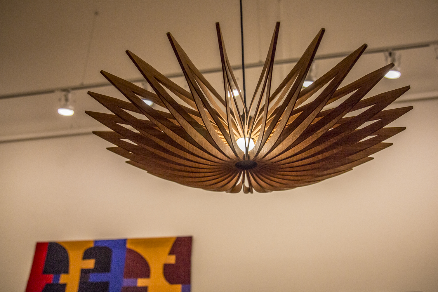 Seth Rolland (WA),  Starfish Hanging Lamp