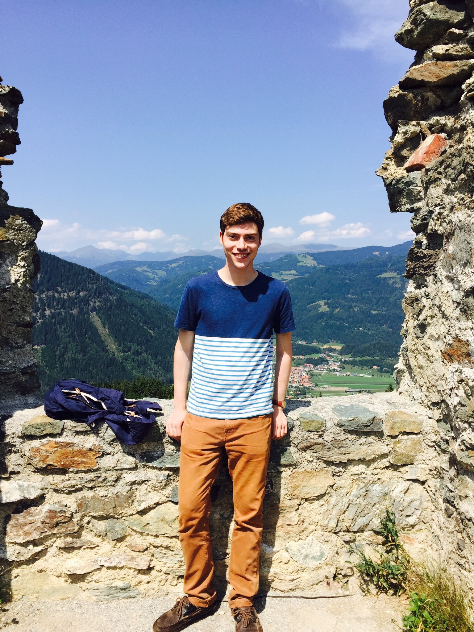 Hiking in the Austrian Alps