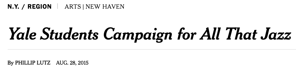 Featured in the New York Times