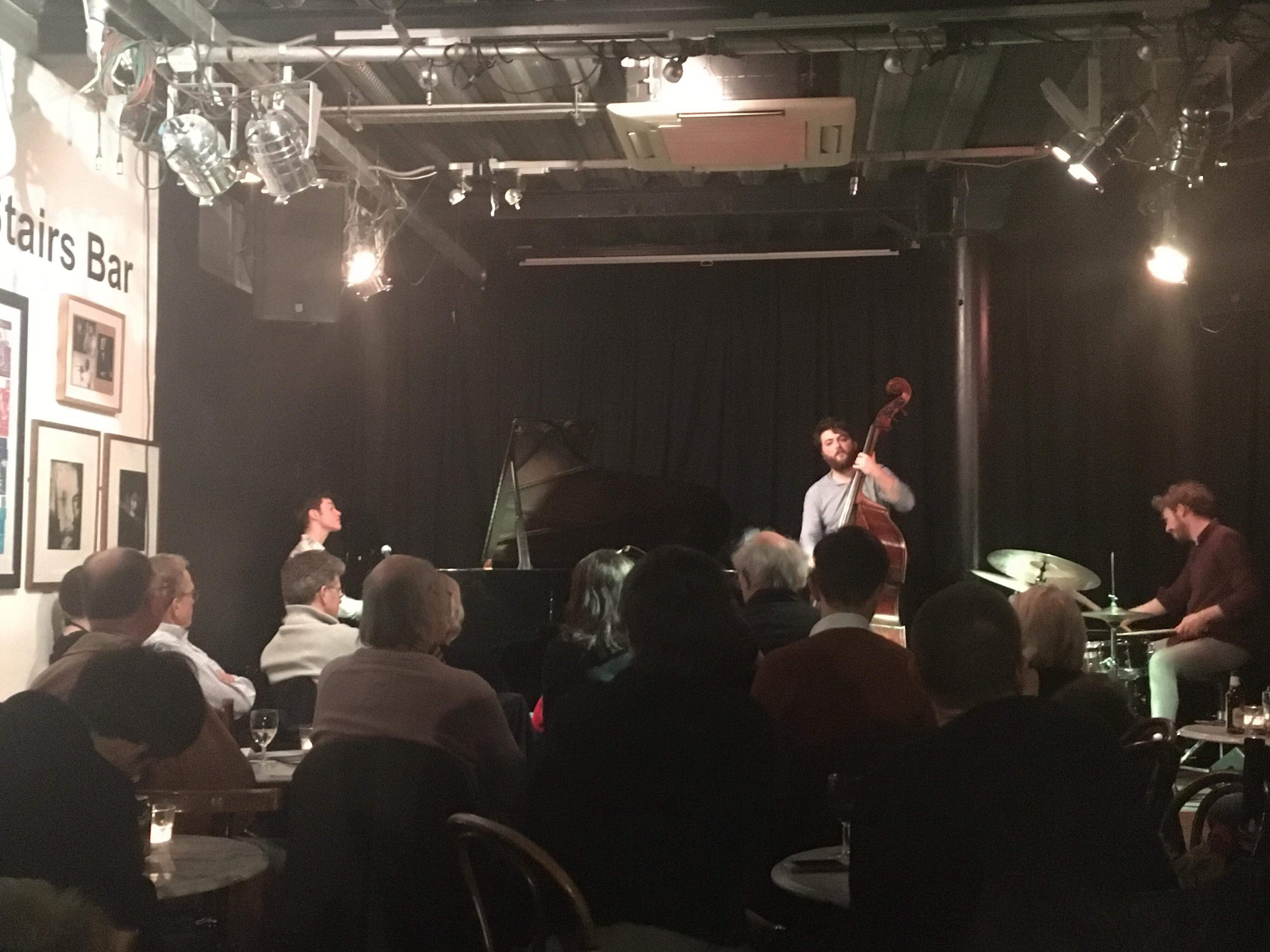 Performing with Huw V Williams and Jay Davis at the Vortex in London