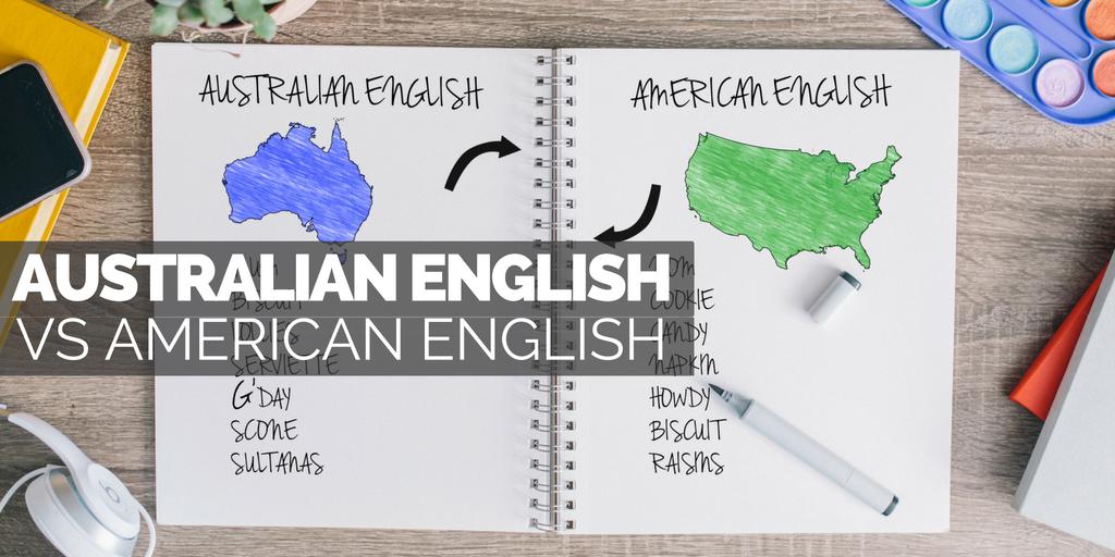 Australian English Vs American English Australian Internships