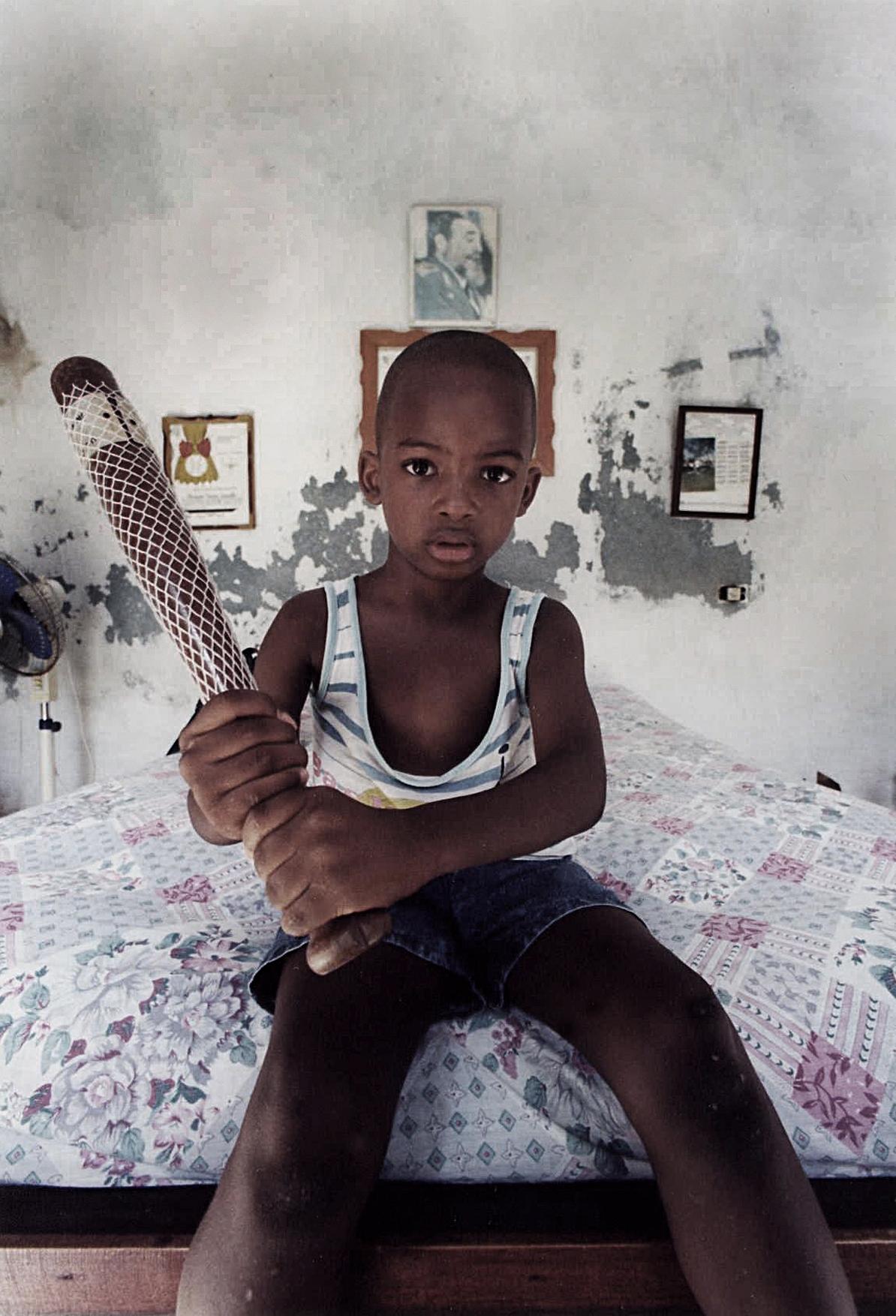 Cuba - Boy With Bat