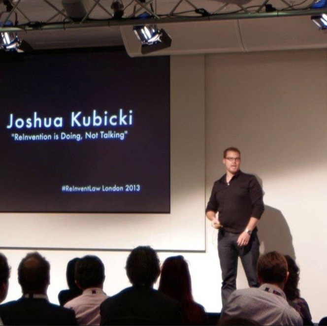 Joshua Kubicki - ReInvention Is Doing, Not Talking
