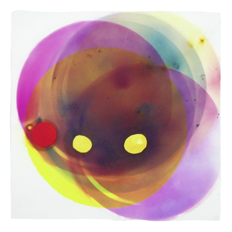 Smoke Painting Eclipse, Yellow
