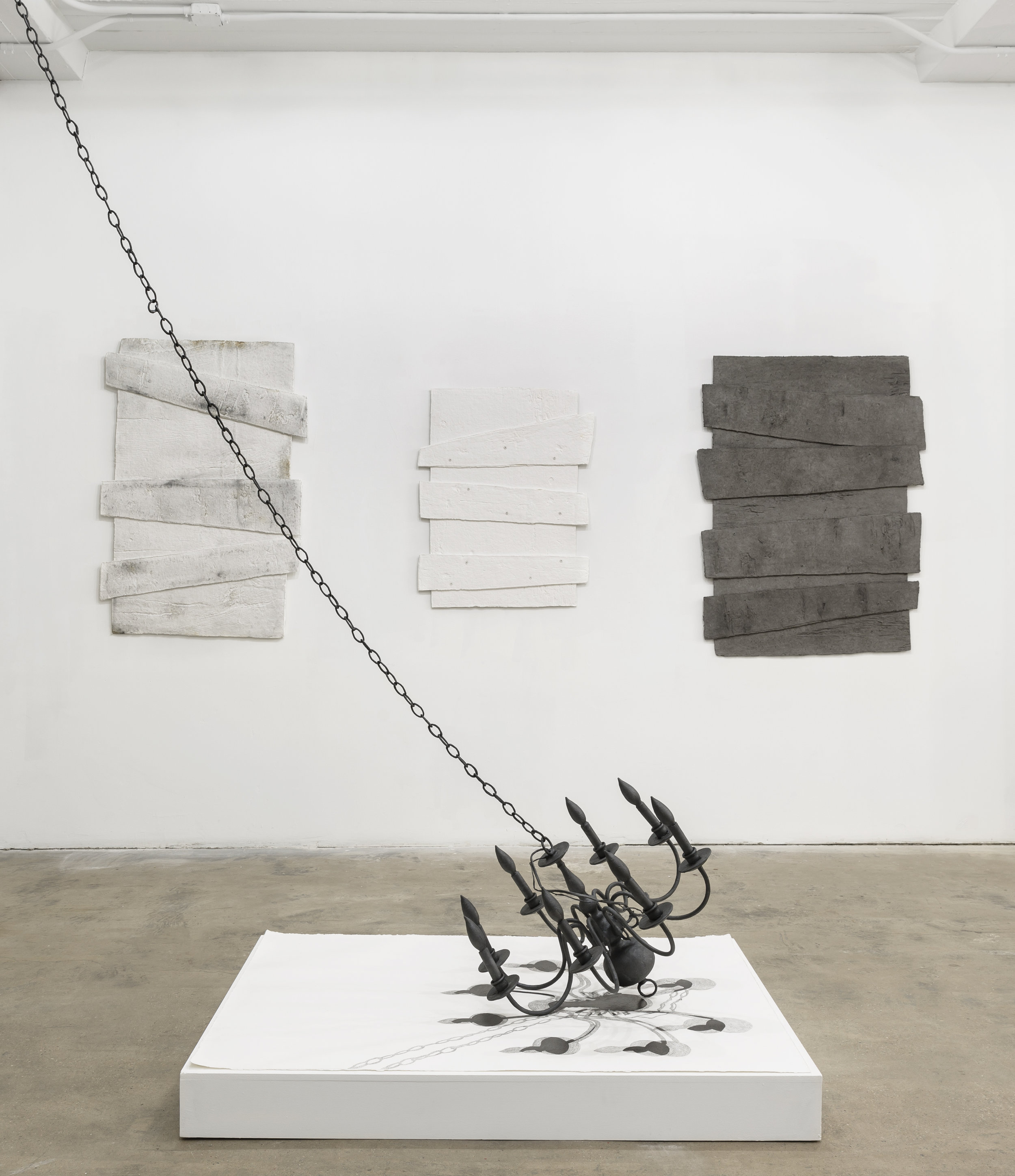 Diana Shpungin installation view. Image copyright and courtesy of Etienne Frossard.