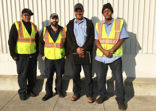 Aim To Please Crew cleans sidewalks, addresses dumped trash and removes graffiti