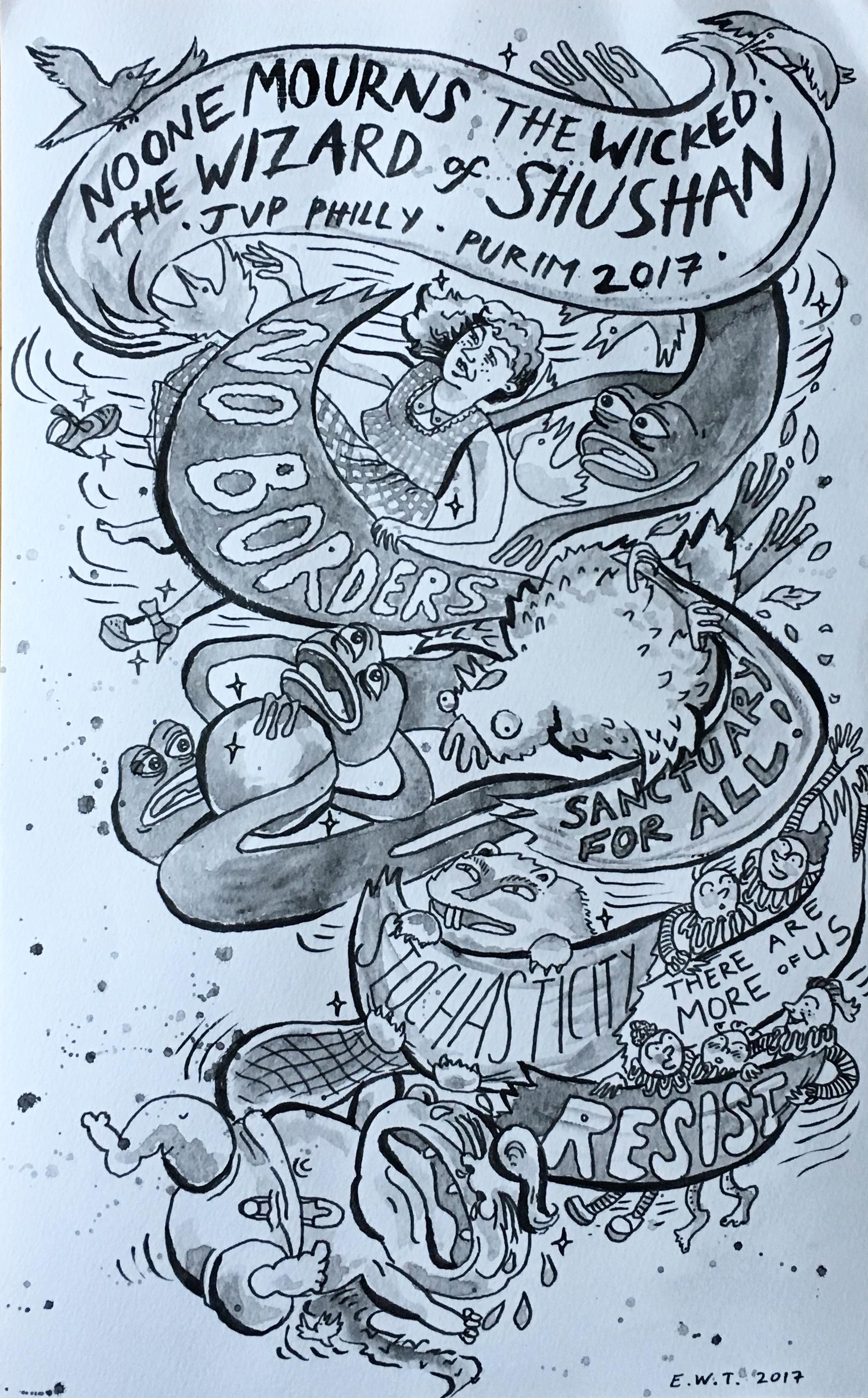 Flyer by Ellie Wolfe Taylor
