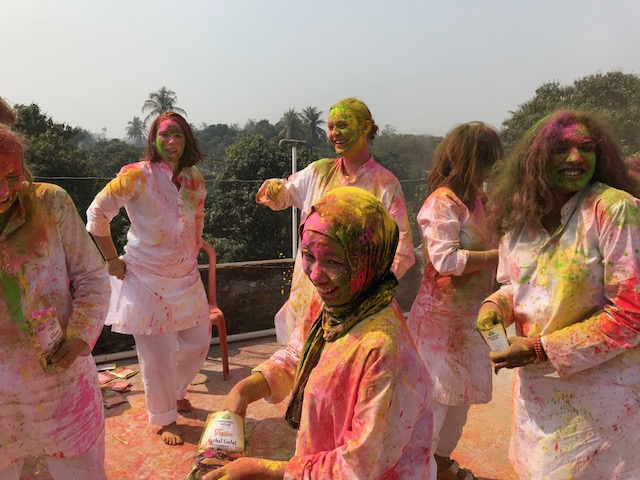 Bilqis india immersion happy holi
