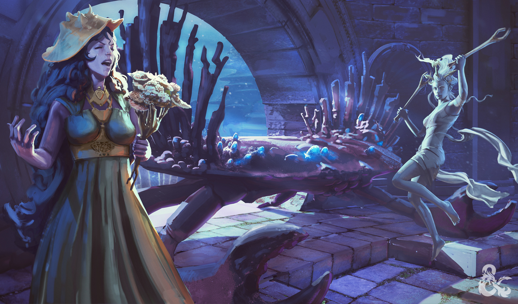 Dungeons & Dragons Storm King's Thunder - Mirran and Nym