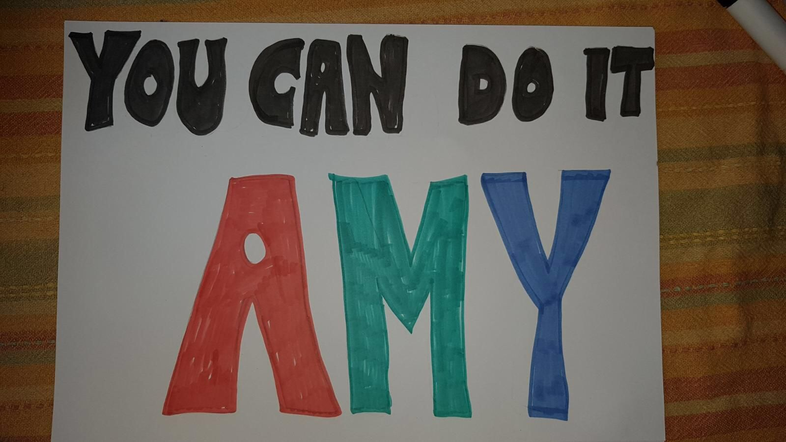 Thanks to Aly for the sign!