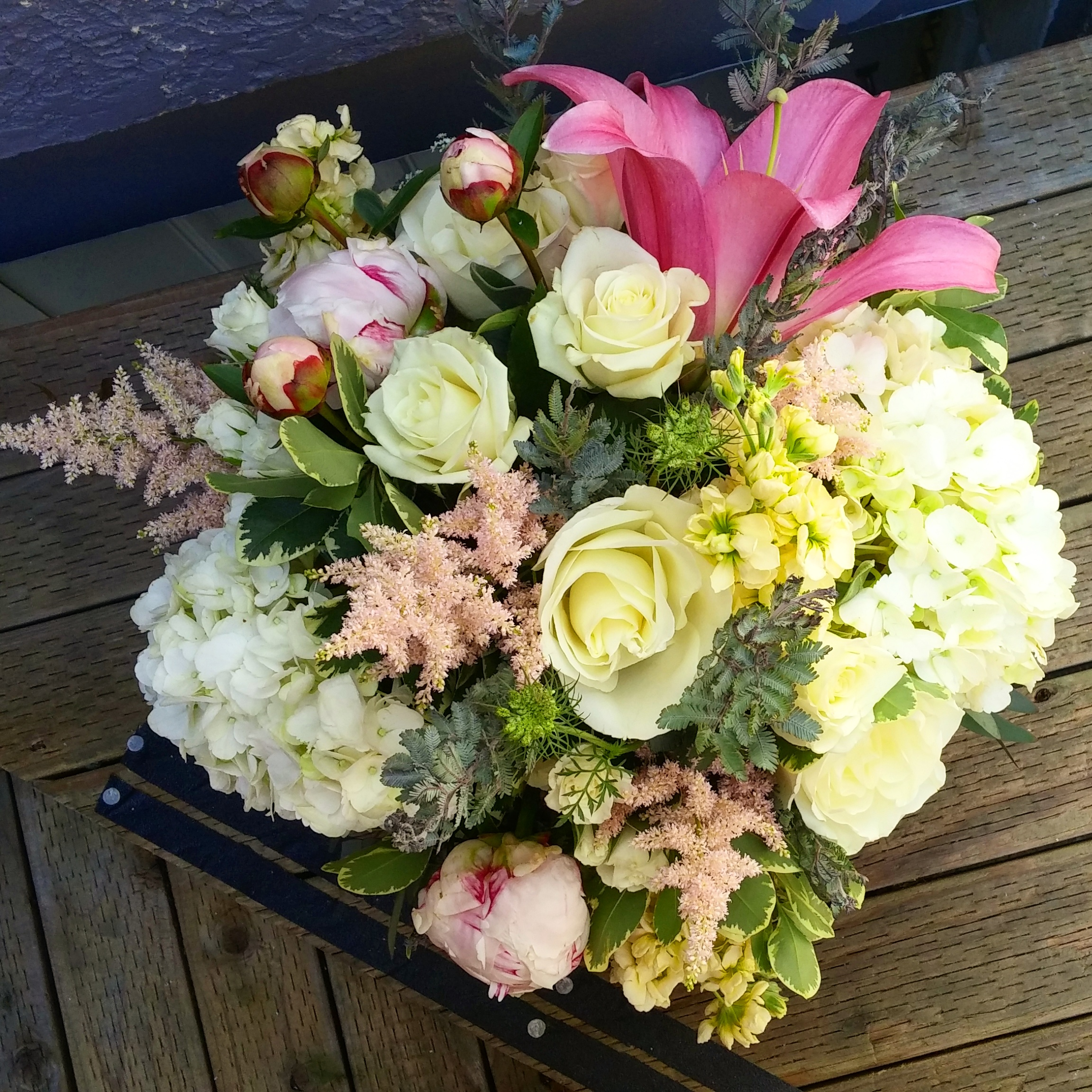 Soft Pastel Spring with Peonies