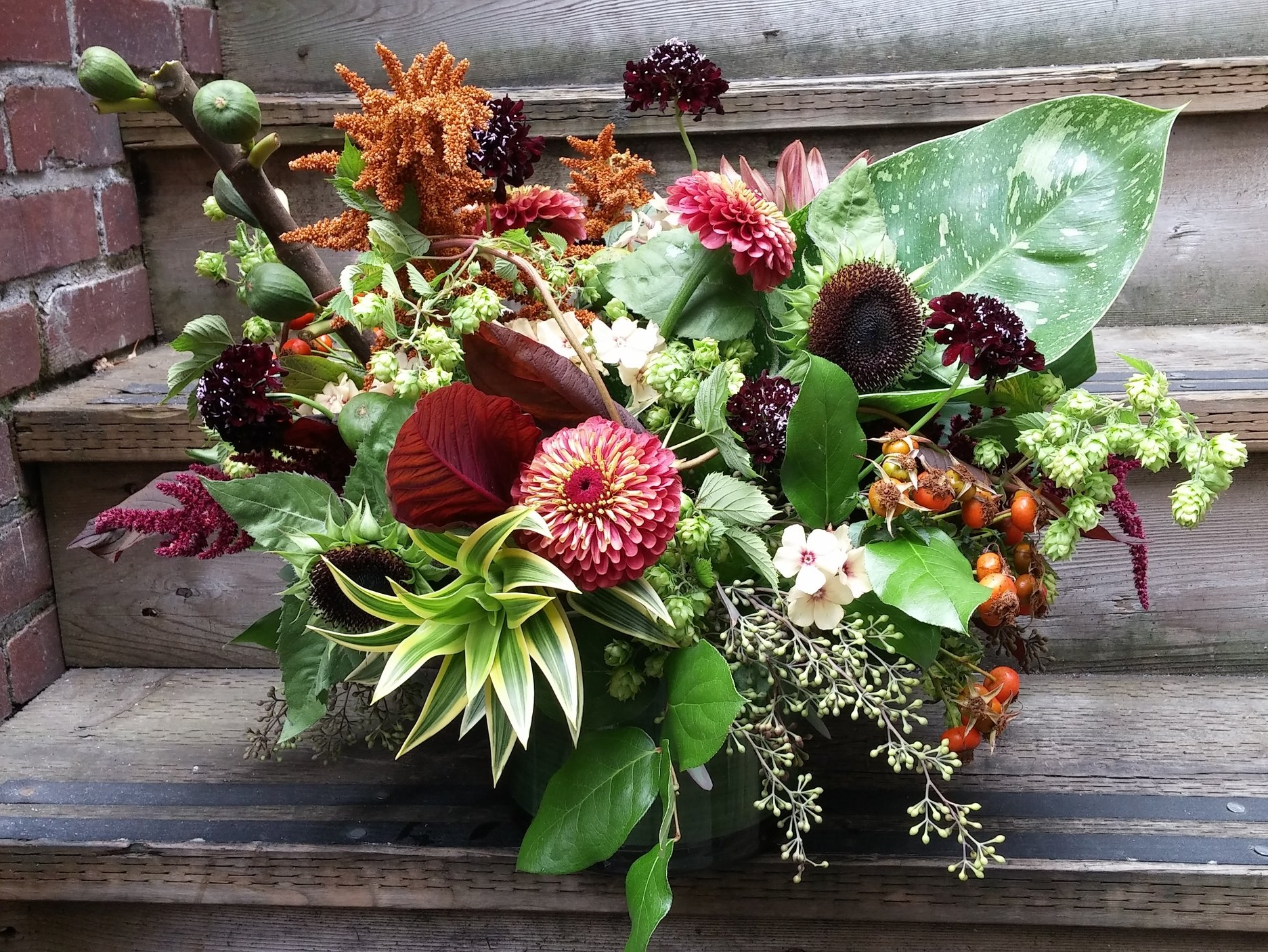 1. Early Fall Showstopper