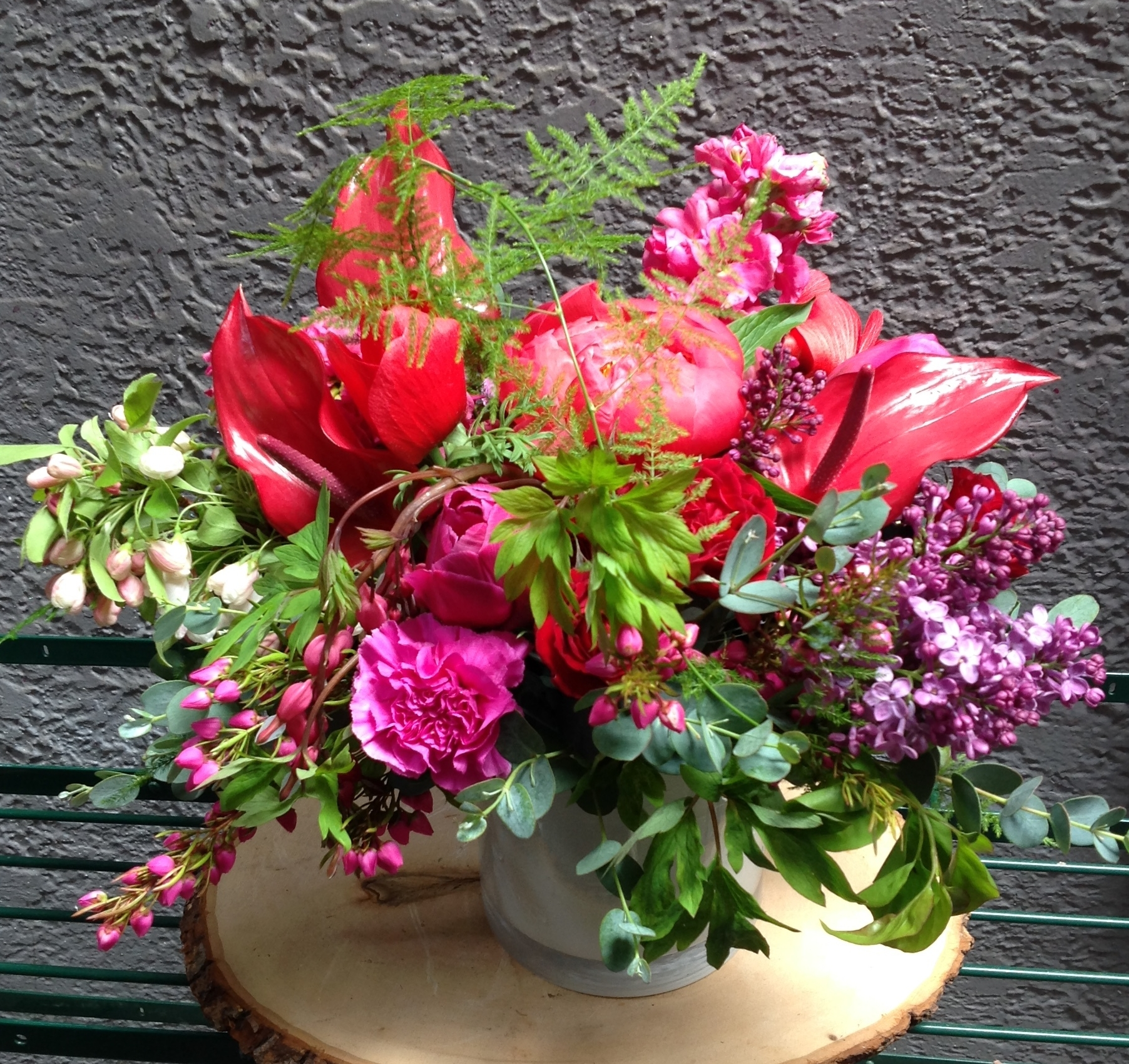 Vibrant and Lush in Shades of Pink