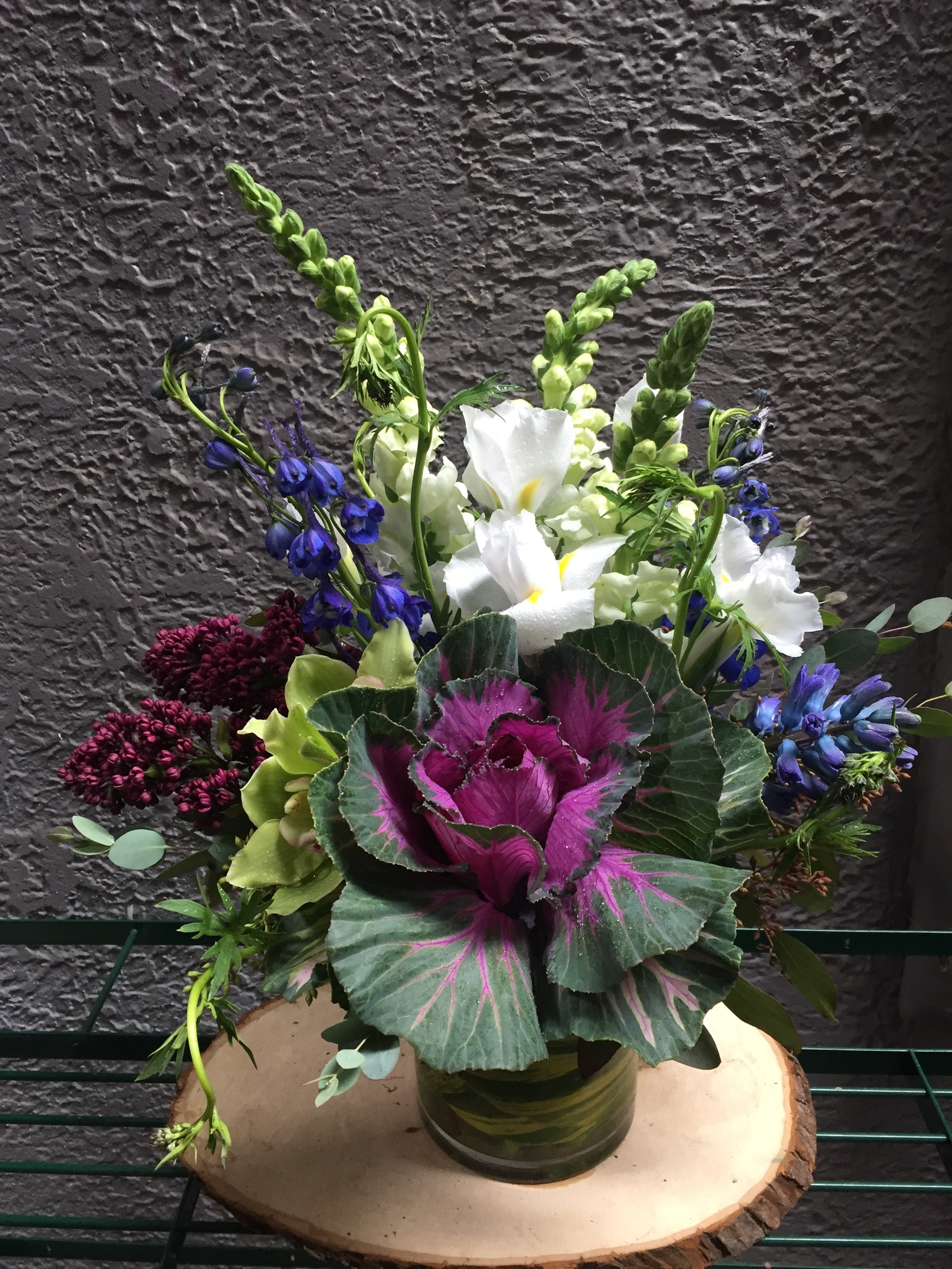 5. Blues and Purples with Kale
