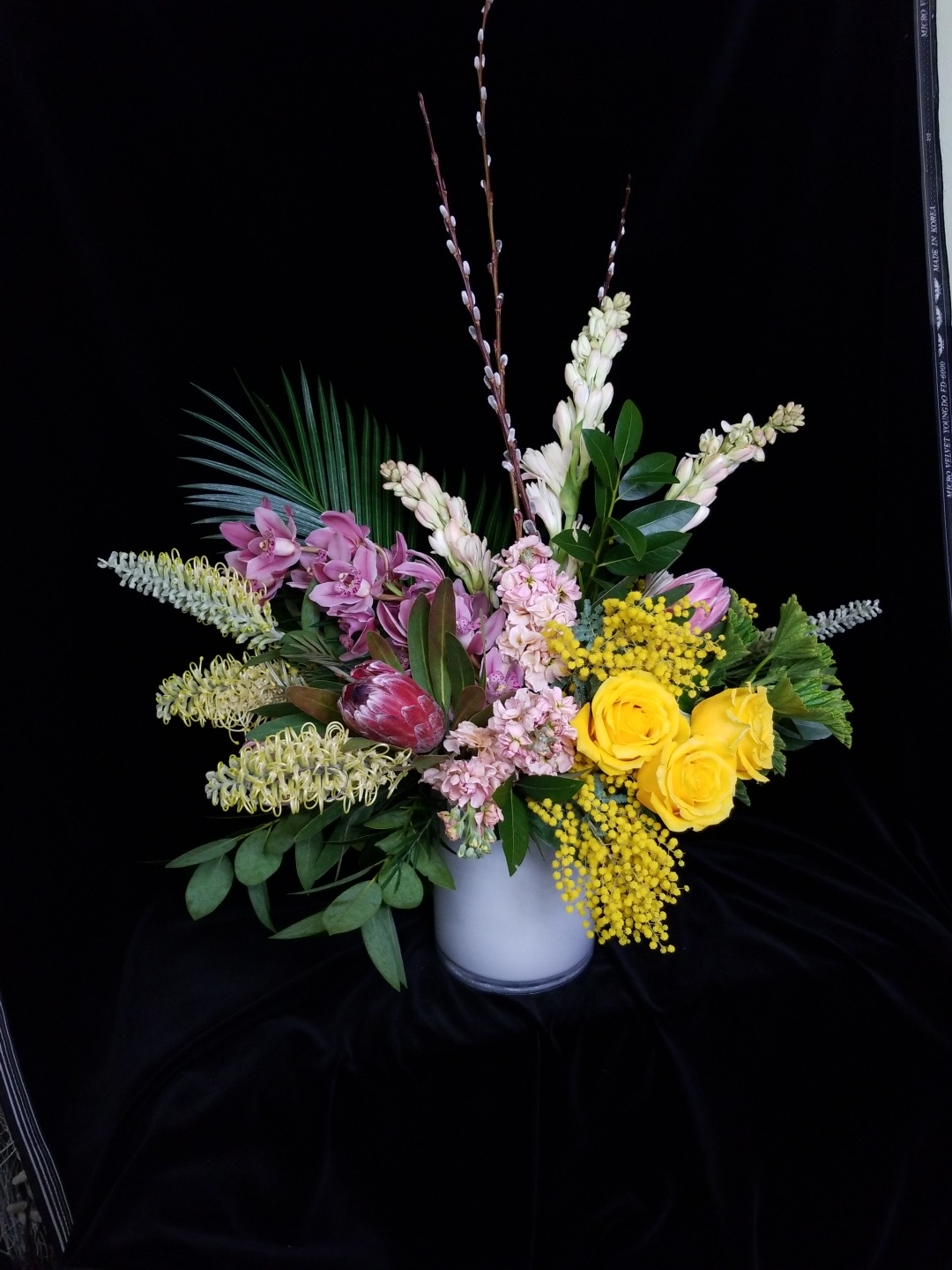 34. Modern eclectic soft pastel tropicals