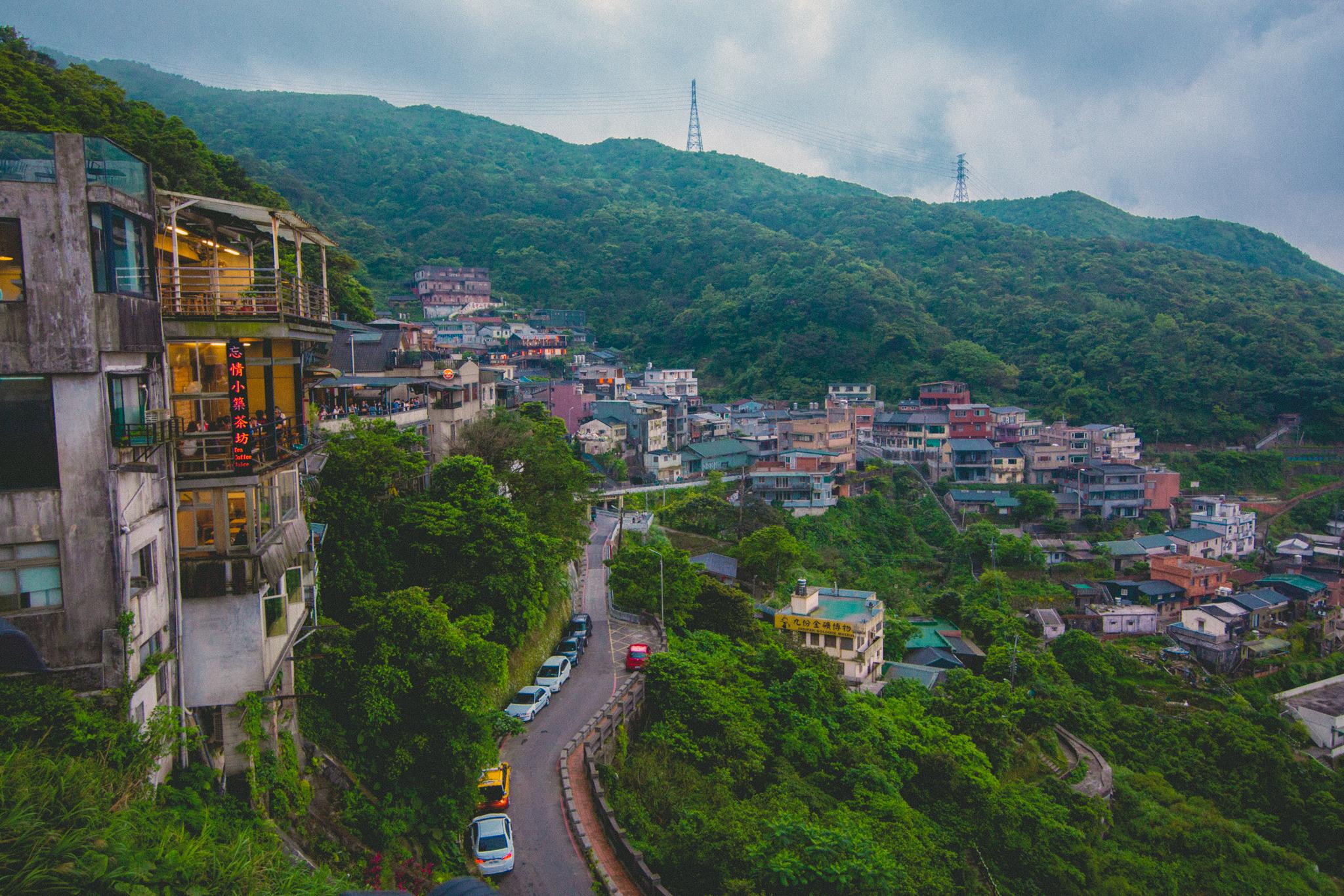 Town of Jiufen, Taiwan