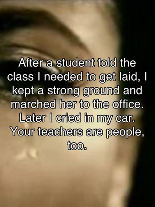 get laid teacher