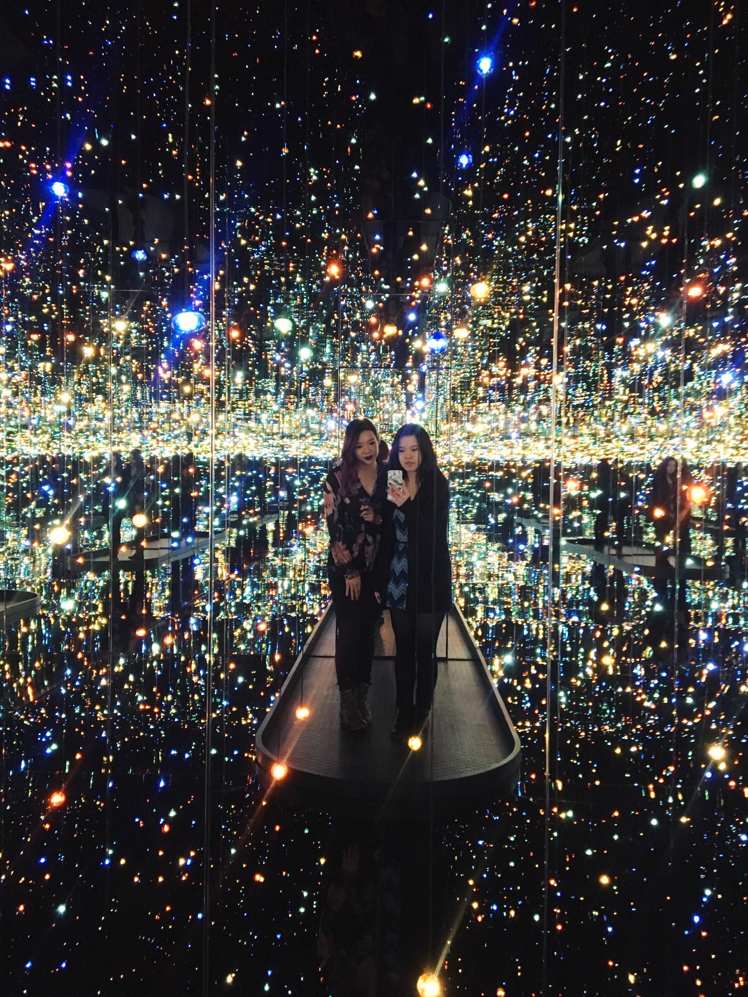 The Souls of Millions of Light Years Away, Yayoi Kusama