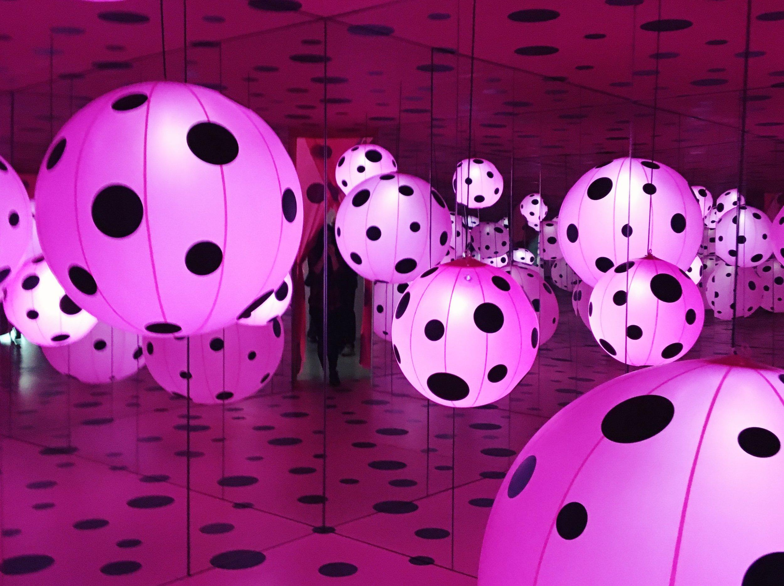 Dots Obsession – Love Transformed into Dots, Yayoi Kusama