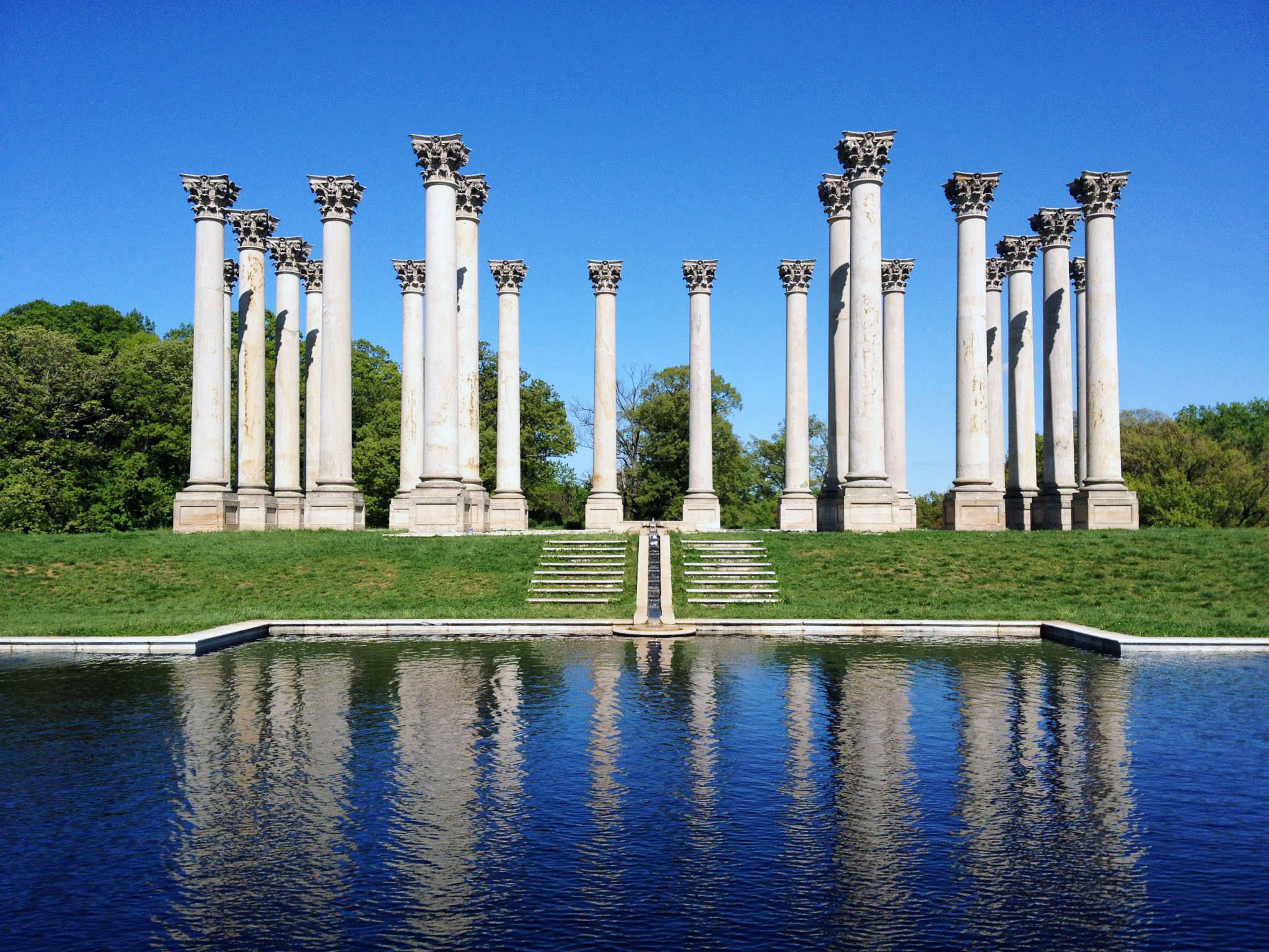 The Capital Columns at the US National Arboretum