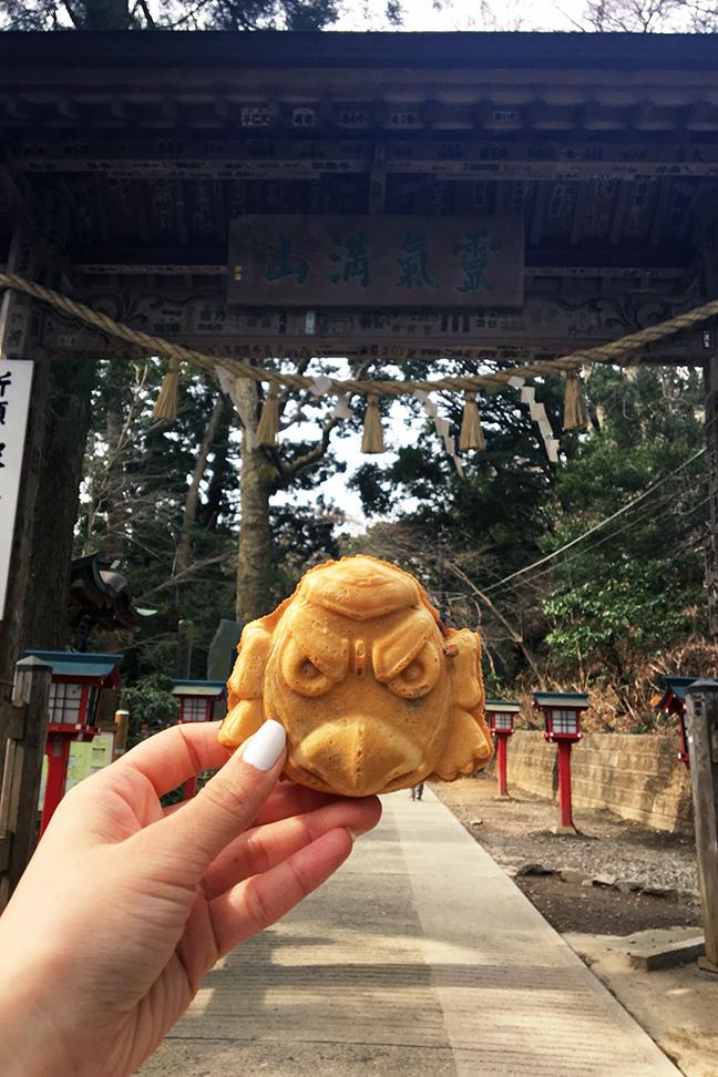 Mount Takao Things to Do Tenguyaki Snack .jpg
