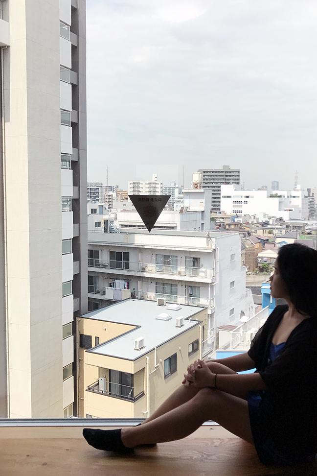 ONE@Tokyo Hotel Loft Room View.JPG