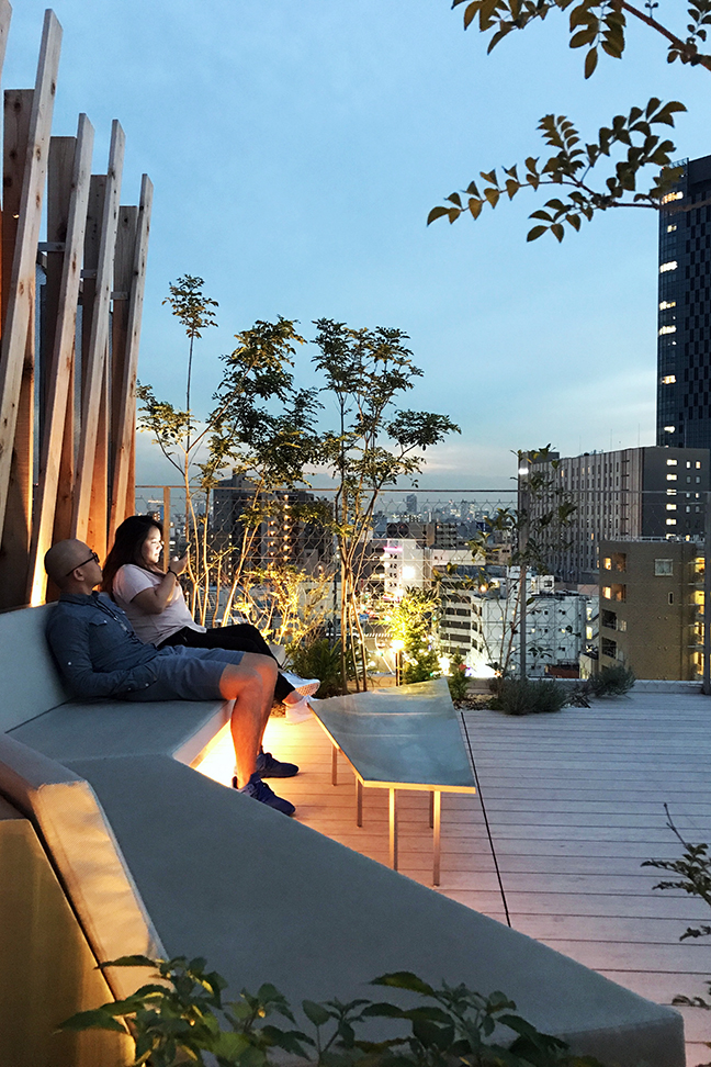 ONE@Tokyo Hotel Rooftop Lounge.JPG