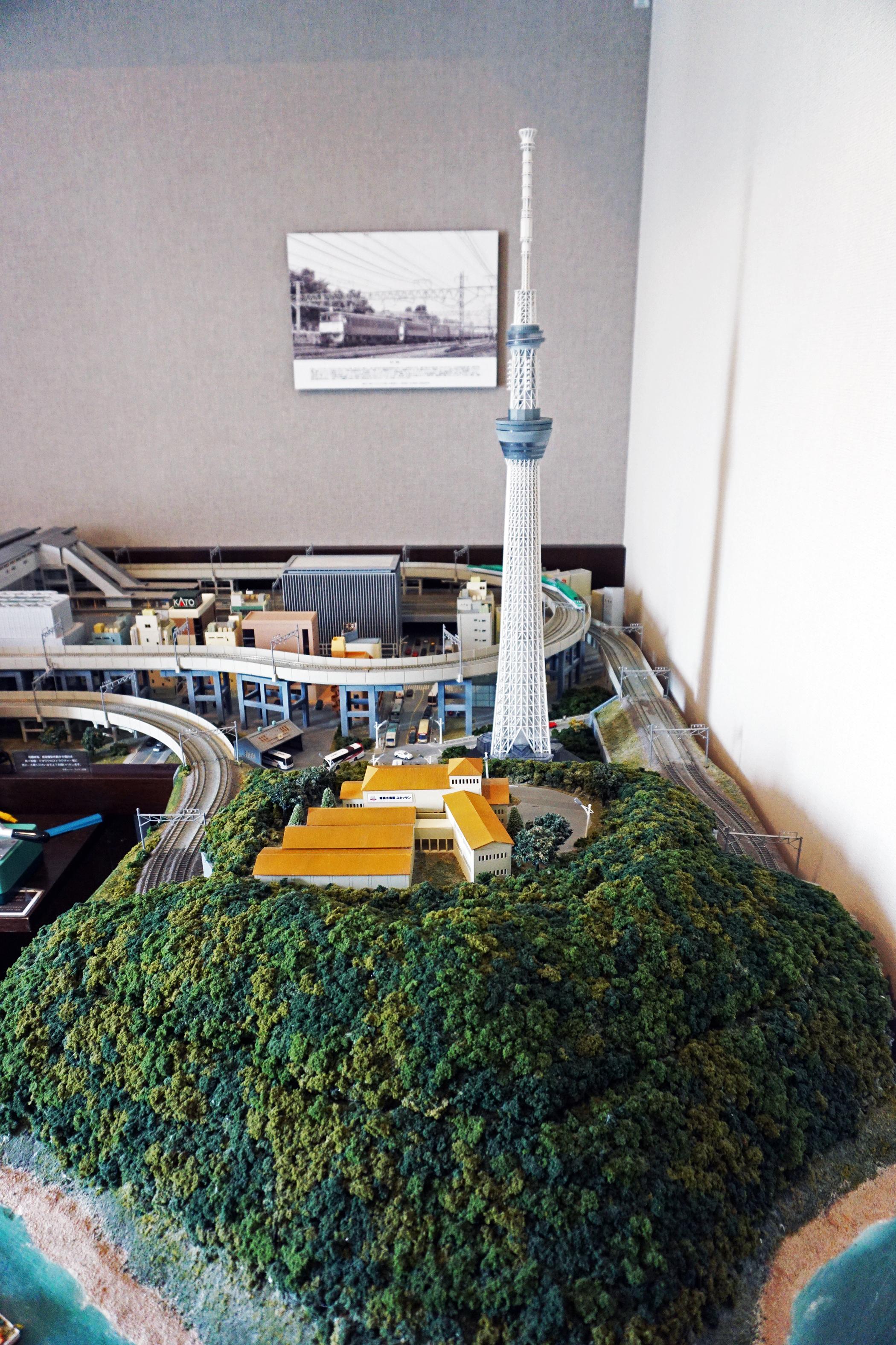 Akihabara Washington Hotel - Train Room Model .JPG