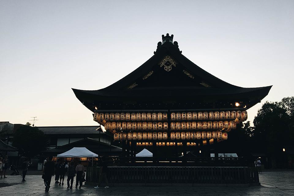 Yasaka Shrine - go at night to see the lanterns lit up!
